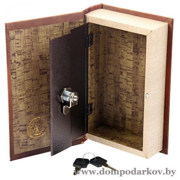 Фото Книги сейфы, шкатулки , Сейф книги  Шкатулка-сейф шёлк