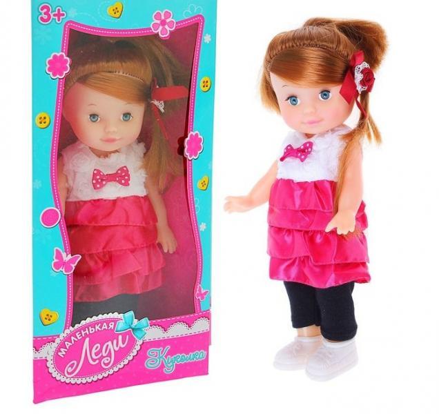 Кукла в платье с аксессуарами