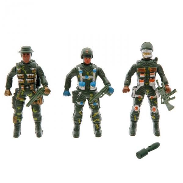 Набор солдатиков, 3 шт