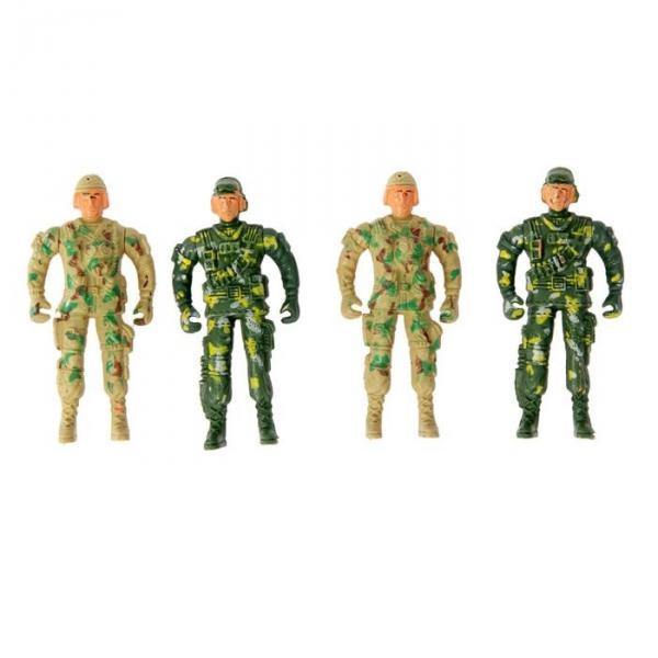 """Солдат """"Спецназ"""", набор 4 шт"""