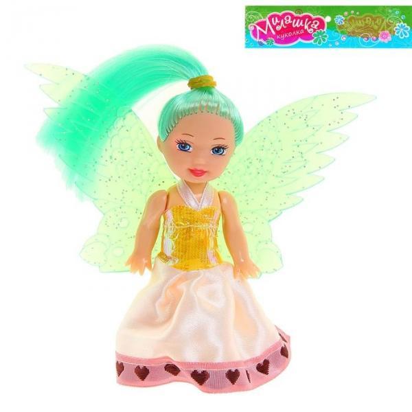 """Кукла-малышка """"Маленькая фея"""", цвета МИКС"""