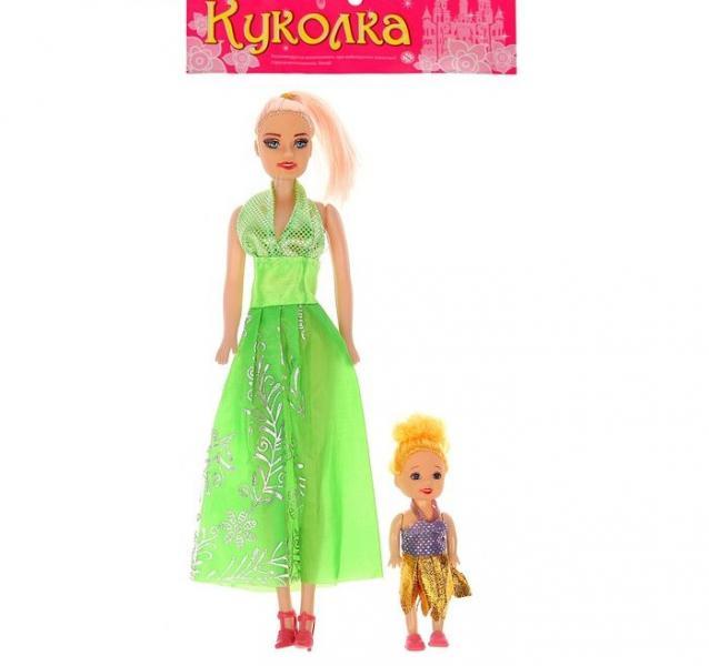 """Кукла """"Каролина"""" с малышкой, МИКС"""