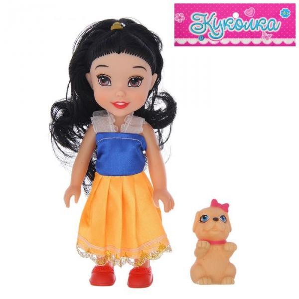 """Кукла """"Принцесса в платье"""", с собачкой, МИКС"""