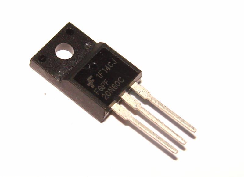 Транзистор FQPF20N60C 20N60 20А 600В