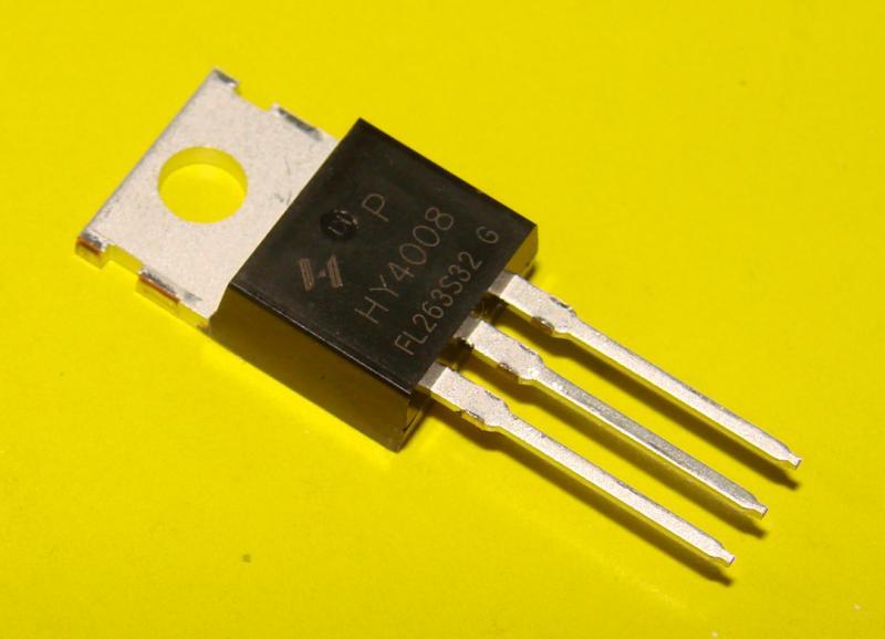 Транзистор HY4008 , 80V , 200A Оригинал 100%
