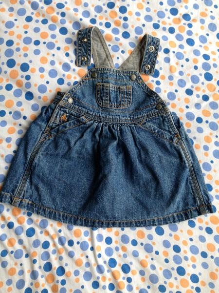 джинсовый сарафан Baby GAP