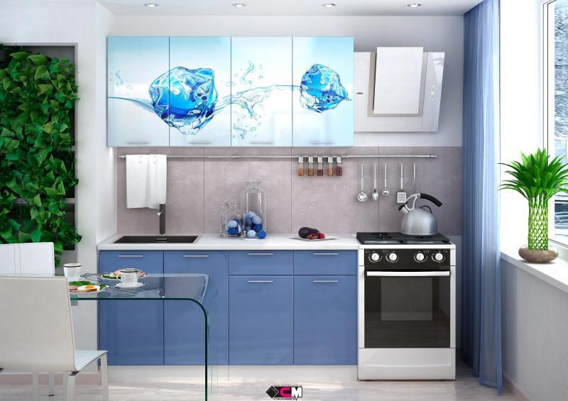 Фото Кухни готовые Кухня Лед 1,6м (1,8м, 2,0м) - (Стендмебель)