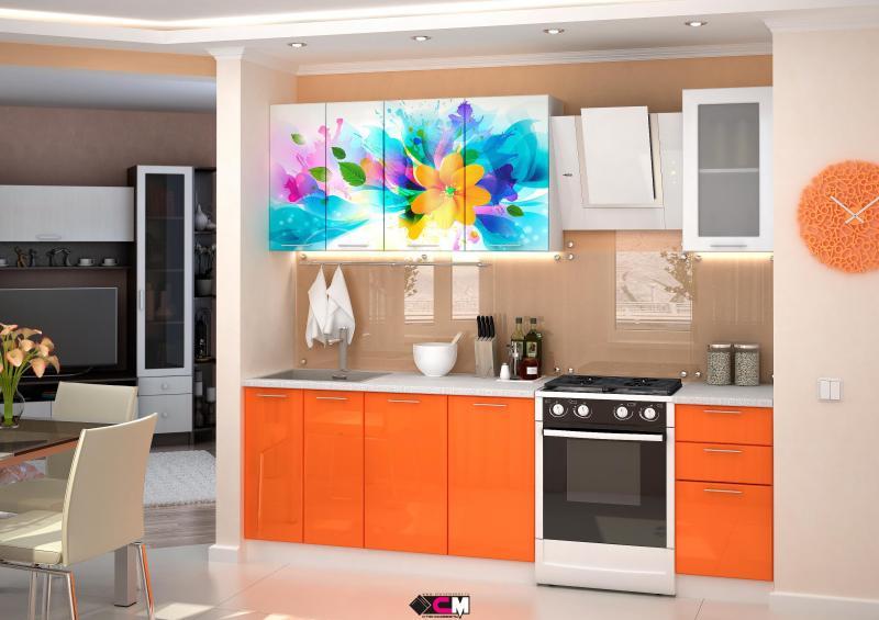 Фото Кухни готовые Кухня Фантазия 1,8м (1,6м, 2,0м) - (Стендмебель)
