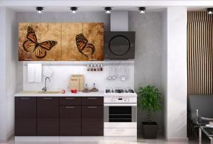 Кухня Бабочки 1,6м (1,8м, 2,0м) - (Стендмебель)