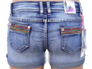 Фото Юбки, шорты Джинсовые женские шорты на лето