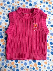 Фото Одежда для девочек, Размер 74 жилетка