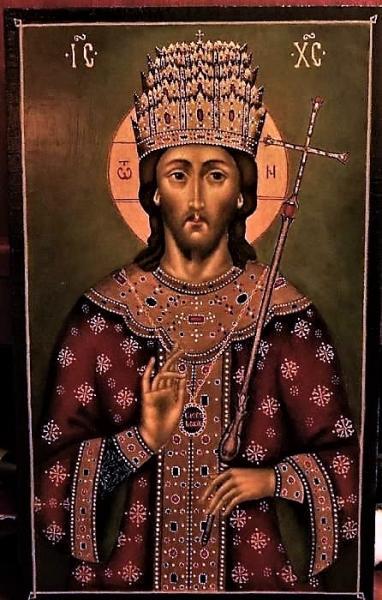 Икона Господь Царь Царем
