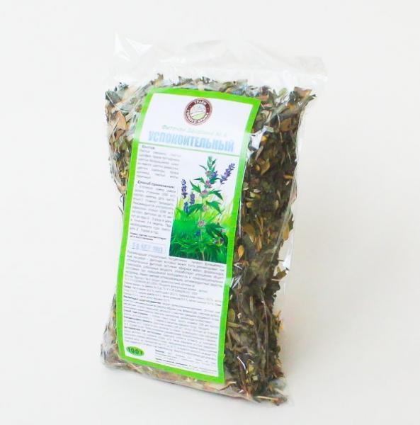 Фиточай Успокоительные травы 100 г