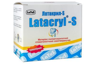 Latacryl-S (Латакрил-С) трехцветный