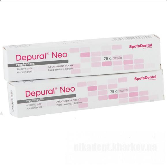 Фото Для стоматологических клиник, Материалы, Системы для отбеливания и полировочные пасты Depural Neo (Депурал нео - паста) - 75г
