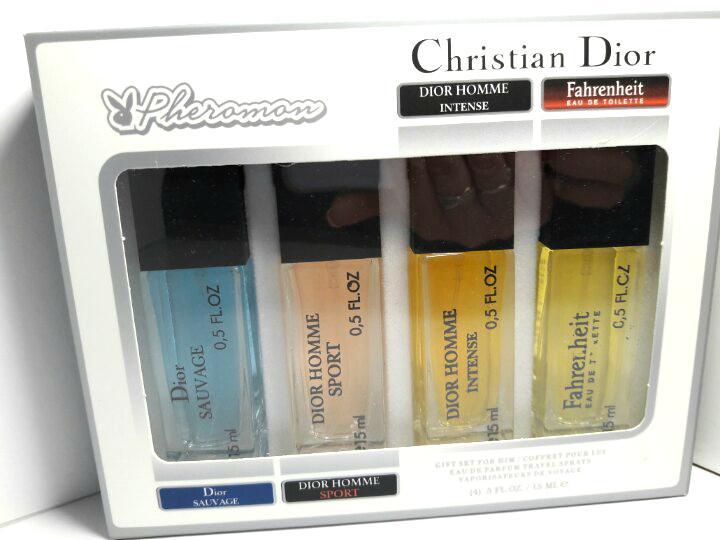 4х15мл Феромоны Christian Dior (М)