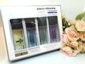 Фото 15 мл по 4 шт мини-парфюмы в подарочной упаковке С ФЕРАМОНАМИ 4х15 мл Феромоны Paco Rabanne (М)