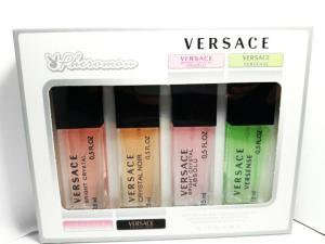Фото 15 мл по 4 шт мини-парфюмы в подарочной упаковке С ФЕРАМОНАМИ 4х15мл с Феромонами Versace (Ж)