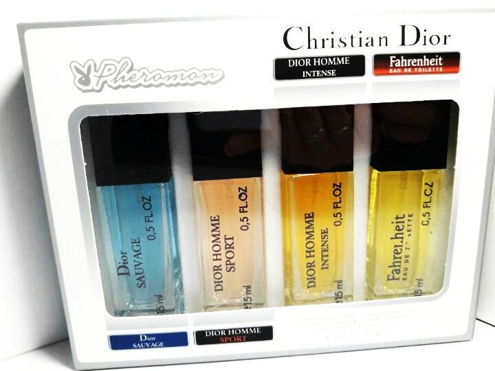 4х15мл с Феромонами Christian Dior (М)