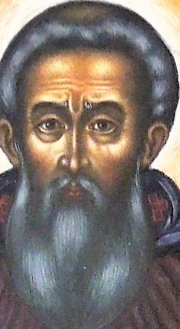 Икона Преподобный Сергий Радонежский.  Фрагмент лика.
