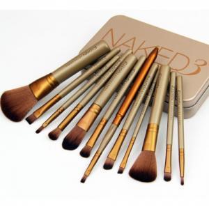 Фото Кисточки и аксессуары для макияжа Набор кистей NAKED3 в контейнере 12 шт