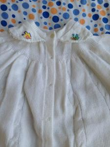Фото Одежда для девочек, Размер 56 вязаный костюм.