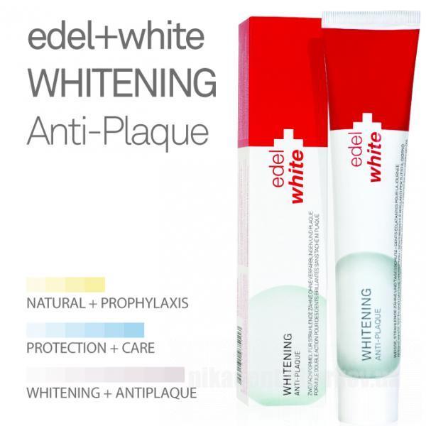 Фото Для стоматологических клиник, Материалы, Системы для отбеливания и полировочные пасты EDEL+WHITE Whitening Anti-Plaque (отбеливающая противораздражительная)