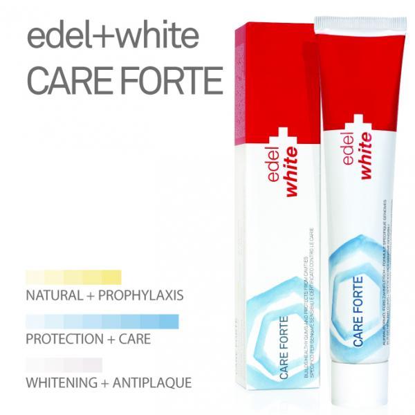 "EDEL+WHITE Care Forte (Зубная паста ""Активная защита десен"")"