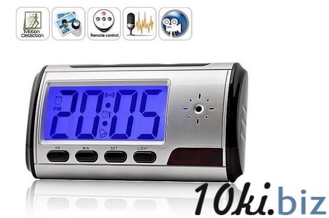 Настольные часы со встроенной видеокамерой и детектором движения купить в Астане - Видеокамеры, экшн-камеры с ценами и фото