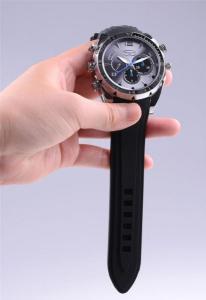 Фото Шпионская мини видеокамера Наручные часы со встроенной видеокамерой g-02