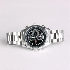 Фото Шпионская мини видеокамера Наручные часы со встроенной видеокамерой g-03