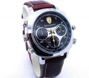 Фото Шпионская мини видеокамера Наручные часы со встроенной видеокамерой Rattrapantc