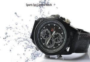 Фото Шпионская мини видеокамера Наручные часы со встроенной видеокамерой g-01