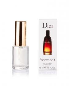 Фото 15 мл духи-миниатюры (с феромонами)  Мини-парфюм Fahrenheit Dior (М) - 15мл