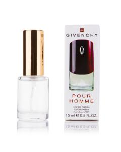 Фото 15 мл духи-миниатюры (с феромонами)  Мини-парфюм Givenchy pour Homme Givenchy бордовые (М) - 15мл