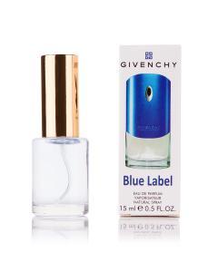 Фото 15 мл духи-миниатюры (с феромонами)  Мини-парфюм Givenchy pour Homme Blue Label (Ж) - 15мл