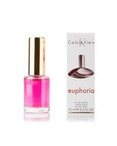 Фото 15 мл духи-миниатюры (с феромонами)  Мини-парфюм Calvin Klein Euphoria (Ж) - 15мл