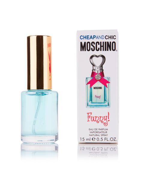 Мини-парфюм Moschino Funny (Ж) - 15 мл