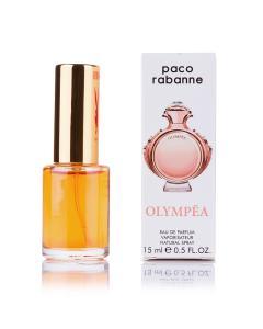 Фото 15 мл духи-миниатюры (с феромонами)  Мини-парфюм Paco Rabanne Olympea (Ж) - 15мл