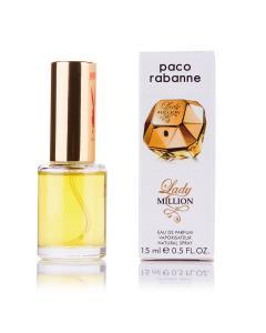 Фото 15 мл духи-миниатюры (с феромонами)  Мини-парфюм Lady Million Paco Rabanne (Ж) 15 мл