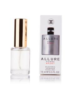 Фото 15 мл духи-миниатюры (с феромонами)  Мини-парфюм Chanel Allure homme Sport 15 мл (м)