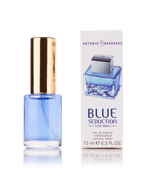 Мини-парфюм Antonio Banderas Blue Seduction For Men 15 мл