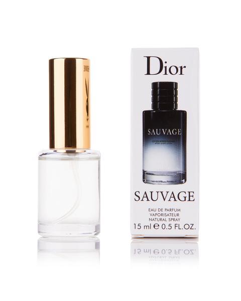 Мини-парфюм Christian Dior Sauvage (М) - 15 мл