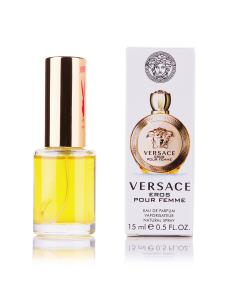 Фото 15 мл духи-миниатюры (с феромонами)  Мини-парфюм Versace Eros Pour Femme (Ж) 15 мл