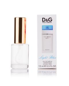 Фото 15 мл духи-миниатюры (с феромонами)  Мини-парфюм Light Blue Dolce Gabbana (Ж) - 15мл