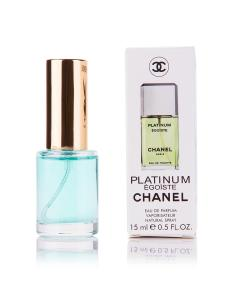 Фото 15 мл духи-миниатюры (с феромонами)  Мини-парфюм Egoïste Chanel Platinum ( М ) 15 мл