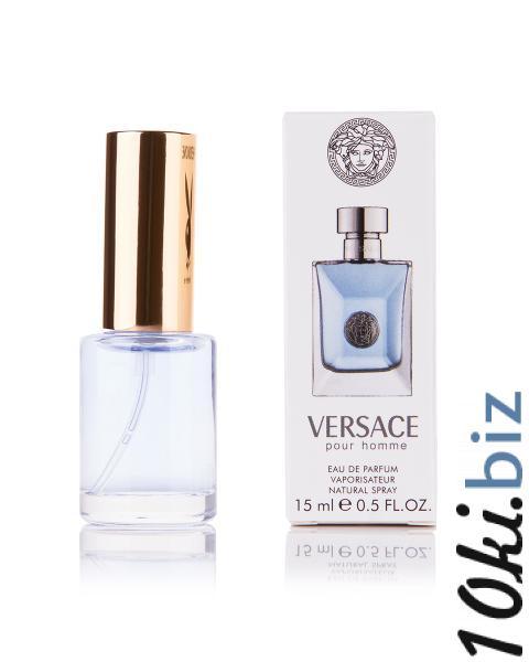 Мини-парфюм Versace pour Homme (М) 15 мл купить в Виннице - Парфюмерия с феромонами с ценами и фото