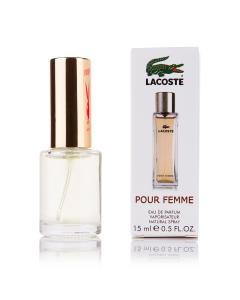Фото 15 мл духи-миниатюры (с феромонами)  Мини-парфюм Lacoste Pour Femme (Ж) - 15мл