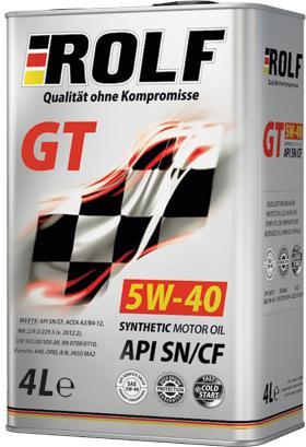 ROLF JT 5w40 4л синтетика