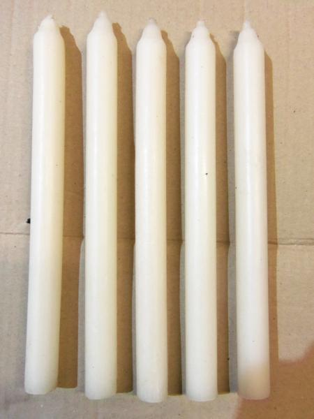 Свечи хозяйственные 15 часов горения 25 см, диаметр 2 см